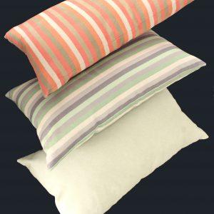 Almofadas em tecido suede sob medida